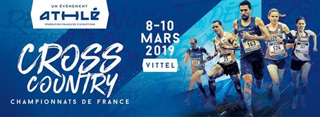 Championnats de France de Cross-Country 2019 à VITTEL: revue d'effectif